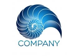 创意漩涡logo设计
