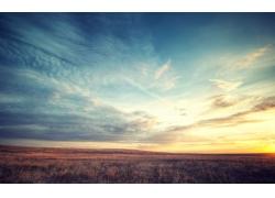 天空下的草原