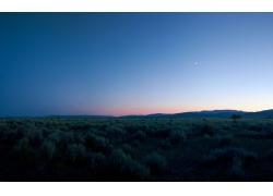 草原夜空风景