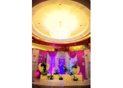 婚礼现场舞台布置