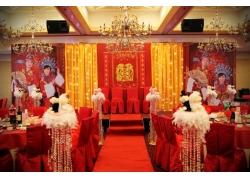 中式古典风格婚礼现场
