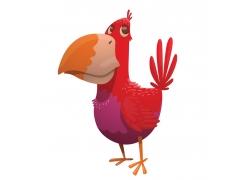 红色鹦鹉漫画