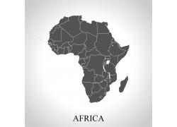 非洲地图全图图片