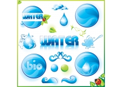 水元素图案设计合集