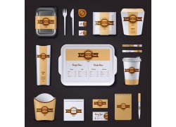 创意快餐VI设计