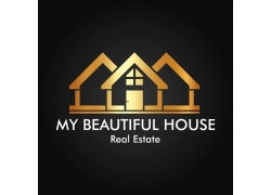 金色房子logo