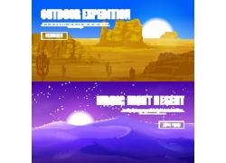 沙漠风光设计