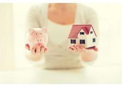 存钱买别墅