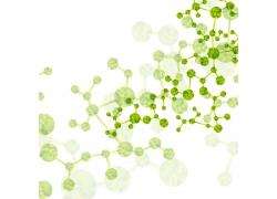 绿色DNA结构