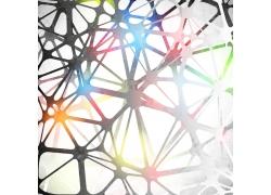 彩色立体结构