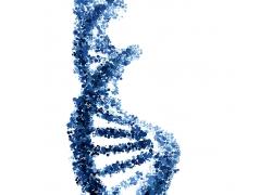 蓝色立体结构