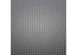 银色镂空金属背景