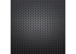 黑色镂空圆形金属背景
