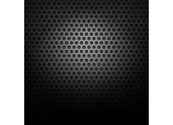 圆形镂空金属背景