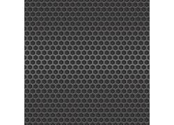 六边形镂空金属背景
