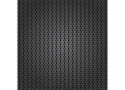 质感黑色镂空金属背景