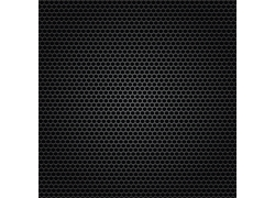 黑色孔状镂空金属背景