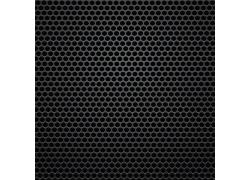 黑色圆形镂空金属背景