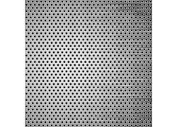 银色镂空圆点金属背景