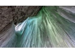 冬季瀑布摄影