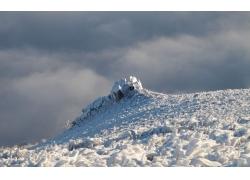 美丽冬天雪景
