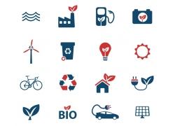 生态环保图标