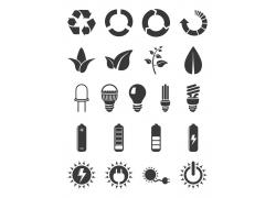 节能环保图标