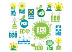 节能生态环保图标