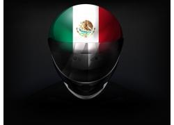 墨西哥国旗头盔