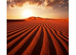 沙漠纹路风光