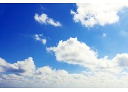 蓝天白云美景