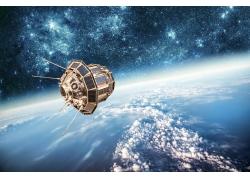 太空中的人造卫星