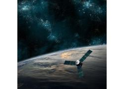 宇宙中的人造卫星