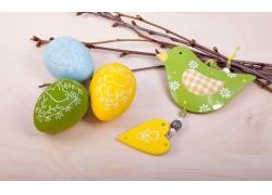 小鸟装饰和彩蛋图片