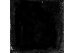 黑色花边纹理背景素材