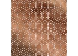 褐色几何图形纹理背景