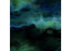动感蓝色水墨纹理背景