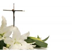 百合十字架