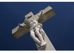 钉在十字架上的耶稣