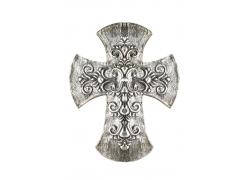 花纹复古十字架