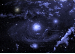 太空星云背景