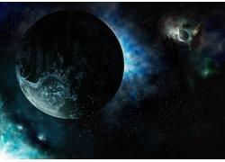 蓝色地球星星