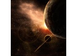 光斑星星星球