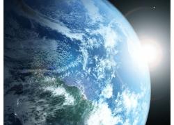 梦幻光斑地球