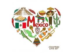 墨西哥旅游漫画