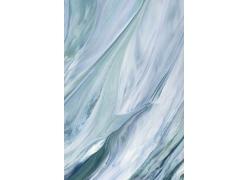 彩绘蓝色水彩背景