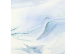 蓝色水彩涂鸦背景