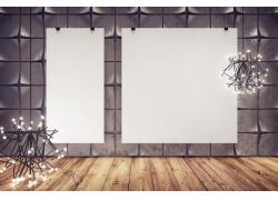 空白展板背景