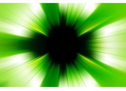 绿色放射状动感背景