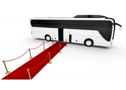 交通工具巴士车